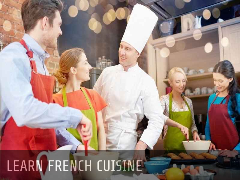 Learn French cuisine
